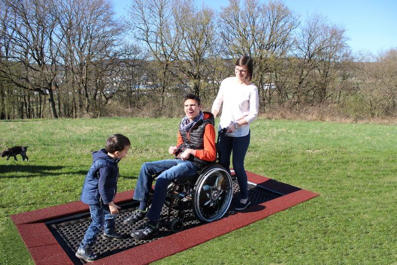 Trampoline For Wheelchair User